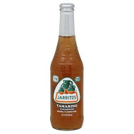 Jarritos Mexican Soda, 12.5 Oz Glass Bottle (Pack of 4) (Tamarind (Tamarindo))
