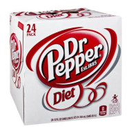 Diet Dr Pepper 12Oz 24/Case