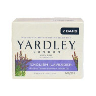 Yardley English Lavender Bar Soap, 2 Count (Pack Of 3)