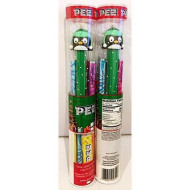 PEZ Collectible Winter Holiday Penguin Dispenser & Candy Set