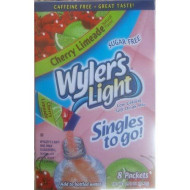 Wyler'S Cherry Limeade Soft Drink Mix 8 Packets In Each Box (12 Pack) ... Iwgl