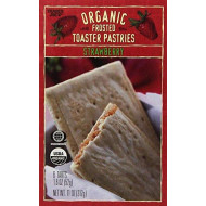 Trader Joe'S Organic Frosted Toaster Strawberry Pastries (2 Pack)