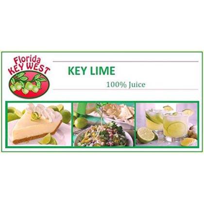100% Authentic Key Lime Juice - 32oz