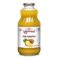 Lakewood Premium Pure Pineapple Juice (32 Oz, 6 Pack)