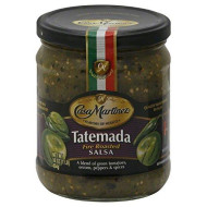 Casa Martinez Salsa Tatemada Green Fire Roasted, 16 Oz