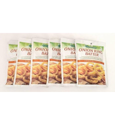 Concord Foods, Onion Ring Batter Mix, Tempura Style, 5.2oz Packet (Pack of 6)