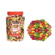 Kirkland Signature Jelly Belly 49 Flavors Of The Original Gourmet Jelly Bean - 4 Lb (64 Oz) Jar - Cos15