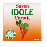 Idole Exfoliating Soap - Carrot 3.53 Oz. (Pack Of 2)