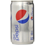 Diet Pepsi, 7.5 Fl Oz Mini Cans, 24 Pack