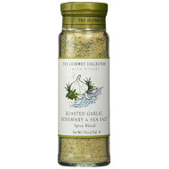 The Gourmet Collection Spice Blends Roasted Garlic, Rosemary & Sea Salt Blend - Rosemary Seasoning Salt for Cooking - Meat, Fish Vegetable Seasoning!