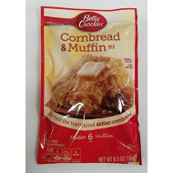 Betty Crocker Betty Crocker Authentic Cornbread & Muffin Mix, 6.5 oz (Pack of 9)