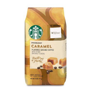 Starbucks Caramel Flavored Ground Coffee, 11 oz