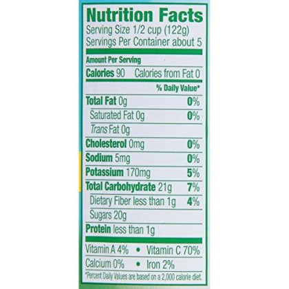 Dole Sliced Yellow Cling Peaches In 100% Fruit Juice, 23.5 Ounce Jar (Pack Of 8)