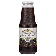 Smart Juice Black Mulberry Organic Juice, 33.8 FL OZ