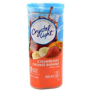 Crystal Light Strawberry Orange Banana 2.4 Ounces (2 Pack)
