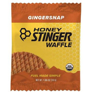 Honey Stinger Organic Waffle, Gingersnap, Sports Nutrition, 1.06 Ounce (16 Count)