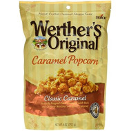 Werther's, Original, Caramel Popcorn, Classic Caramel, 6 Ounce Bag (Pack of 3)