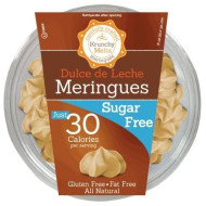 Krunchy Melts - Sugar Free Meringues - Dulce De Leche Flavor - 2 Oz Tub