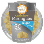 Krunchy Melts - Sugar Free Meringues - Cappuccino Flavor - 2 Oz Tub