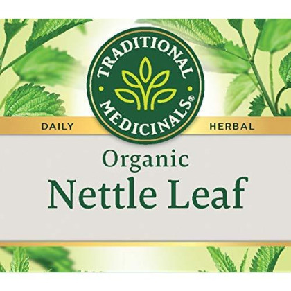 Traditional Medicinals Organic Nettle Leaf Herbal Tea, 16 Tea Bags (Pack Of 6)
