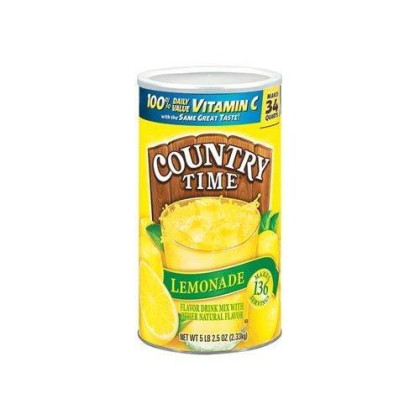 Country Time Lemonade Drink Mix,5Lb 2.5Oz