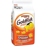 Pepperidge Farm Goldfish Cheddar Crackers, 6.6 Ounce Bag, 24 Count