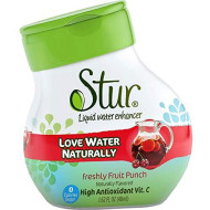 Stur Fruit Punch Water Flavor 1.62 Ounce (Single)