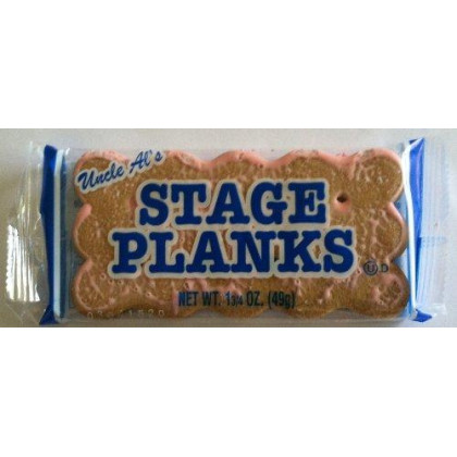 Uncle Al'S Old Fashioned Stage Planks, Pack Of 12