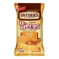 Snyder'S Of Hanover Cheddar Cheese Pretzel Pieces, 12 Ounce (2 Bags)