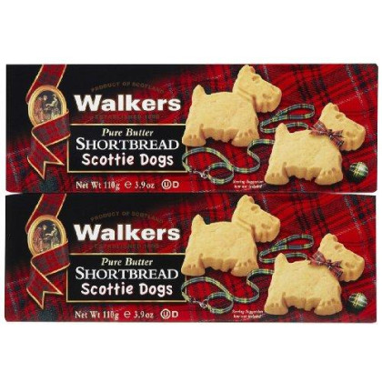Walkers Scottie Dog Shortbread - 3.9 oz - 2 pk