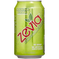 Zevia Zero Calorie Soda, Mountain Zevia, 12 Oz (6 Pack)