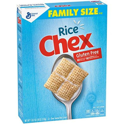 Rice Chex Cereal, Gluten Free, 8 Boxes 18 Oz