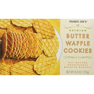 Trader Joe'S Belgian Butter Waffle Cookie Crisps - 2 Pack
