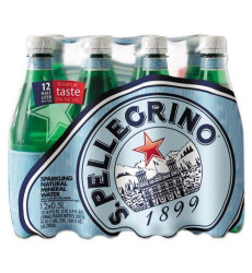 San Pellegrino Sparkling Natural Mineral Water, 16.9 Ounce Bottles (Pack Of 12)