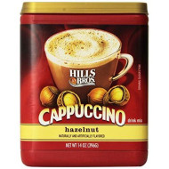 Hills Bros. Cappuccino Hazelnut 14 Ounce Instant Drink Mix (Pack Of 3)