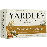 Yardley Oatmeal And Almond Bar Soap, 4.25 Oz. (Pack Of 42)
