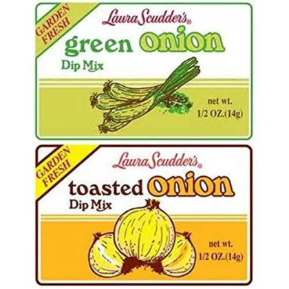 Laura Scudder'S Green Onion & Toasted Onion Dip Mix (Pack Of 6)