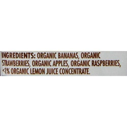 Ella'S Kitchen Organic 6+ Months Baby Food,Smoothie Fruit Puree, The Red One, 3 Oz. Pouch (Pack Of 6)