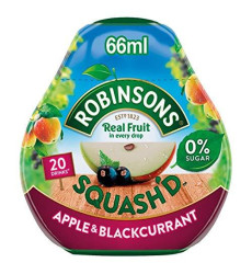 Robinsons Squash'd Apple & Blackcurrant No Added Sugar (66ml)