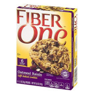 Gmi Fiber One Cookies 6 Piece Oatmeal Raisin Soft-Baked Cookies Box, 6.6 Oz