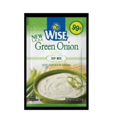 Wise Green Onion Dip Mix 6 Packets