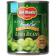 Del Monte Canned Fresh Cut Green Lima Beans, 8.5 Ounce