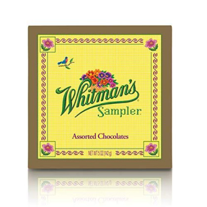 Whitman's Sampler Assorted Chocolates, 5 Ounce Box