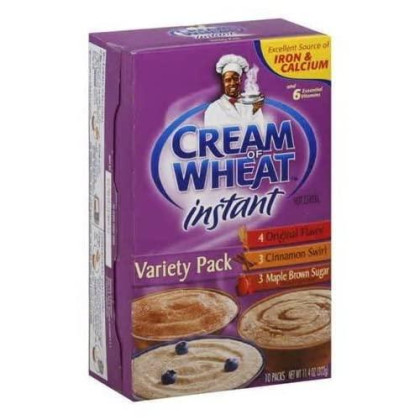Cream Of Wheat: Variety Pk 10 Ct Instant Hot Cereal, 11.4 Oz