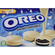 White Chocolate Fudge Covered Oreo Cookies - 1 Box -