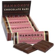 Bacon And Potato Chips Candy Bar - Hammonds Pigs N Taters - 2.25 Oz - Funny Gift - Delicious - Good - Yummy - Chocolate Bar - Candy Bar - Milk Chocolate - Christmas Present Idea