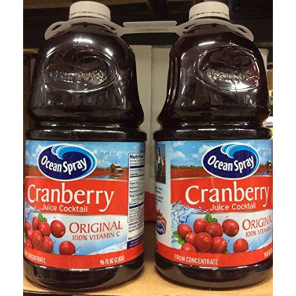 Ocean Spray Cranberry Juice-96 oz, 2 ct