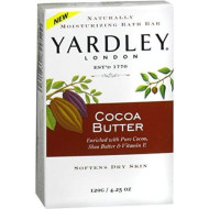 Yardley Moisturizing Bar Cocoa Butter 4.25 Oz (Pack Of 6)