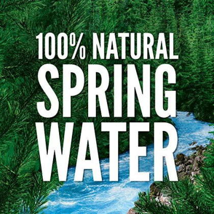 Natural Spring Water, 24 Count