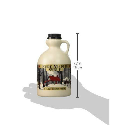 Empty Maple Syrup Jugs - Quart (32 Fl Oz Each) - Case Of 4 Containers